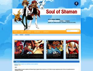 shaman-soul.com screenshot