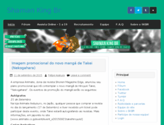 shamankingbr.com screenshot