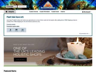 shamanscrystal.co.uk screenshot