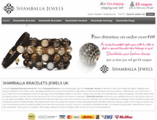 shamballabraceletsjewels.co.uk screenshot