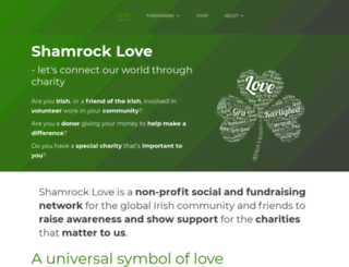 shamrocklove.com screenshot