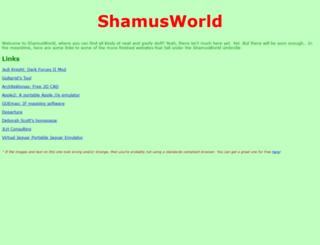 shamusworld.gotdns.org screenshot