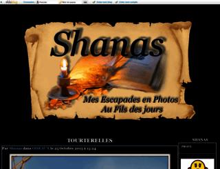 shanas.eklablog.com screenshot
