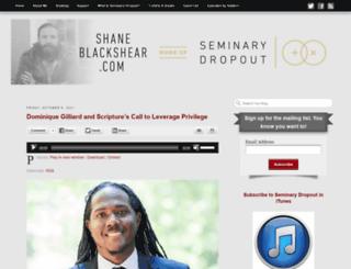 shaneblackshear.com screenshot