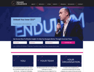 shanecradock.com screenshot