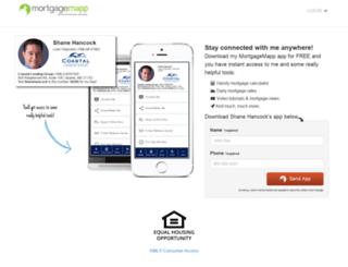 shanehancock.mortgagemapp.com screenshot