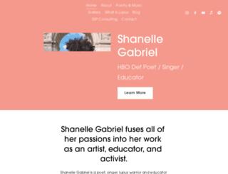shanellegabriel.com screenshot