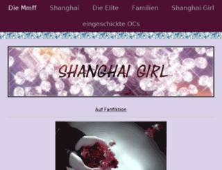 shanghaigirl.jimdo.com screenshot