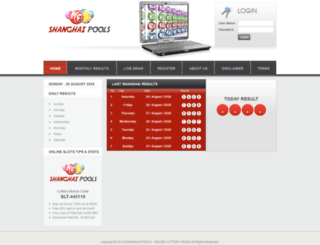 shanghaitoto.com screenshot
