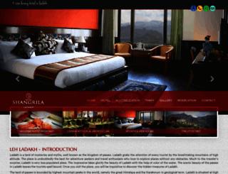 shangrilaladakh.com screenshot
