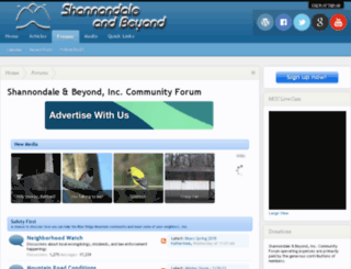 shannondale.org screenshot