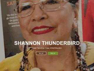 shannonthunderbird.com screenshot