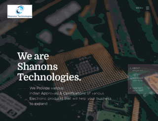 shanonstech.com screenshot
