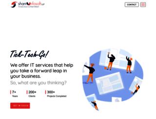 shantiinfotech.com screenshot