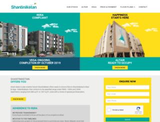 shantiniketans.com screenshot