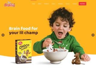 shantis.com screenshot