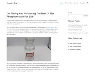 shapado.com screenshot