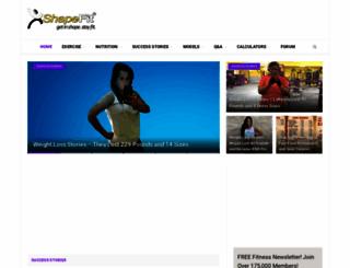shapefit.com screenshot