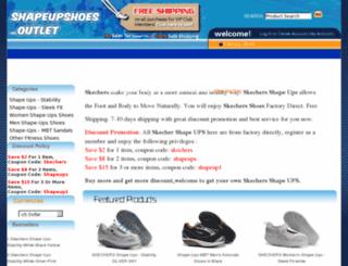 shapeupshoes-outlet.com screenshot