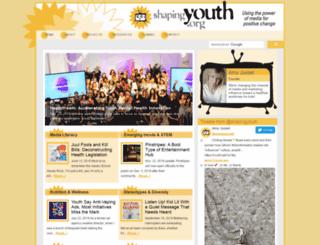 shapingyouth.com screenshot
