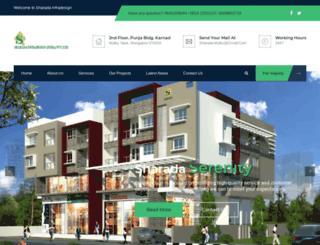 sharadamulky.com screenshot