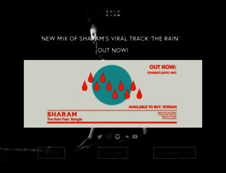 sharam.com screenshot