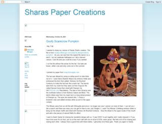 sharaspapercreations-sharalyn.blogspot.com screenshot