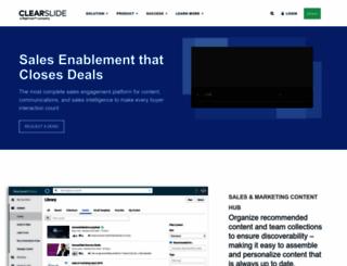 share-ew1-01.clearslide.com screenshot