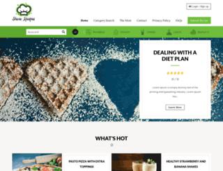 share-recipes.com screenshot