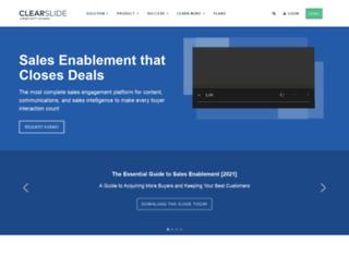 share-ue1-03.clearslide.com screenshot