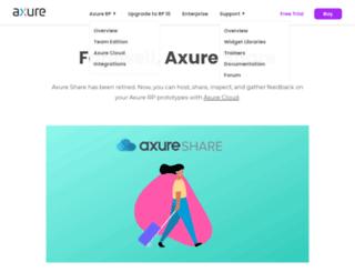share.axure.com screenshot