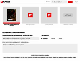 share.flipboard.com screenshot