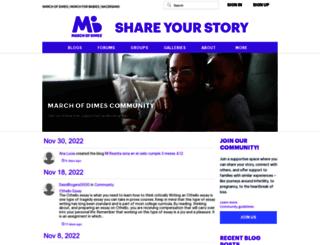 share.marchofdimes.com screenshot