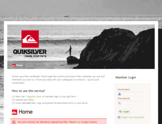 share.quiksilver-europe.com screenshot