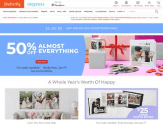 share.shutterfly.com screenshot
