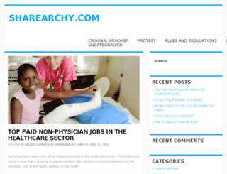 sharearchy.com screenshot
