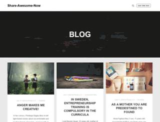 shareawesomenow.org screenshot