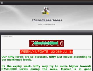 sharebazaarideas.com screenshot