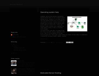 shared-dedicated-server.blogspot.com screenshot