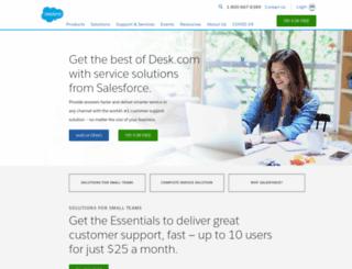 shared.desk.com screenshot