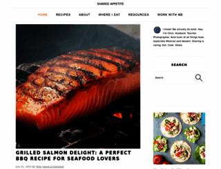 sharedappetite.com screenshot