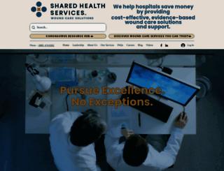 sharedhealthservices.com screenshot