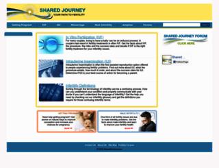 sharedjourney.com screenshot