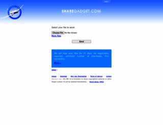 sharegadget.com screenshot