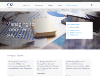 shareholders.ozcap.com screenshot