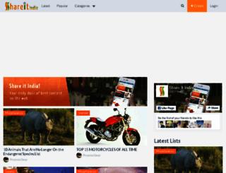 shareitindia.com screenshot