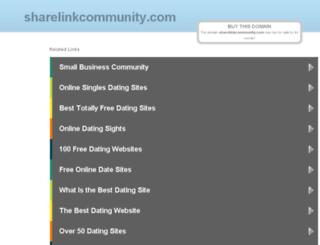 sharelinkcommunity.com screenshot