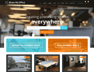 sharemyoffice.co.uk screenshot