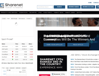 sharenet.biz screenshot