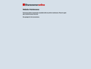 shareowneronline.com screenshot